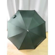 Зонт полуавтомат, металл, зеленый