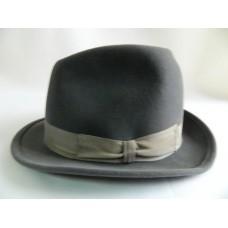 Шляпа фетровая Хуст серая.