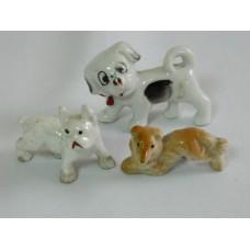 Собаки Япония, фарфор