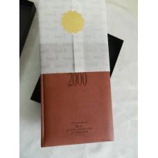 Ежедневник кожаный в коробке