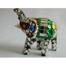 Статуэтка пластик Слон зеркальный
