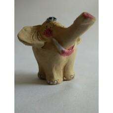 Статуэтка керамика Слониха с макияжем