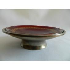 Креманка серебро 916, эмаль