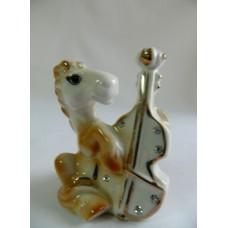 Статуэтка сувенир Лошадка с виолончелью