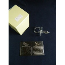 Статуэтка Соска белая острая  Boda Crystal Brilliant