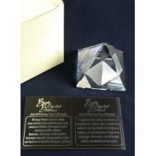 Статуэтка Пирамида 114908 Boda Crystal Brilliant