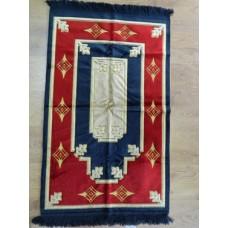 Накидка, коврик Kadifeteks бежевая, красная