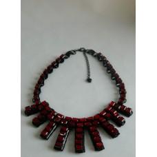 Ожерелье рубиновое Jeverly
