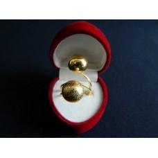 Кольцо два шарика Xuping